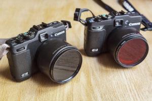 Photographie du matériel de prise de vue mis à disposition lors des initiations et workshops de photographie infrarouge.