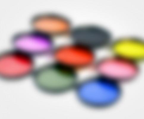Le comparatif des filtres colorés
